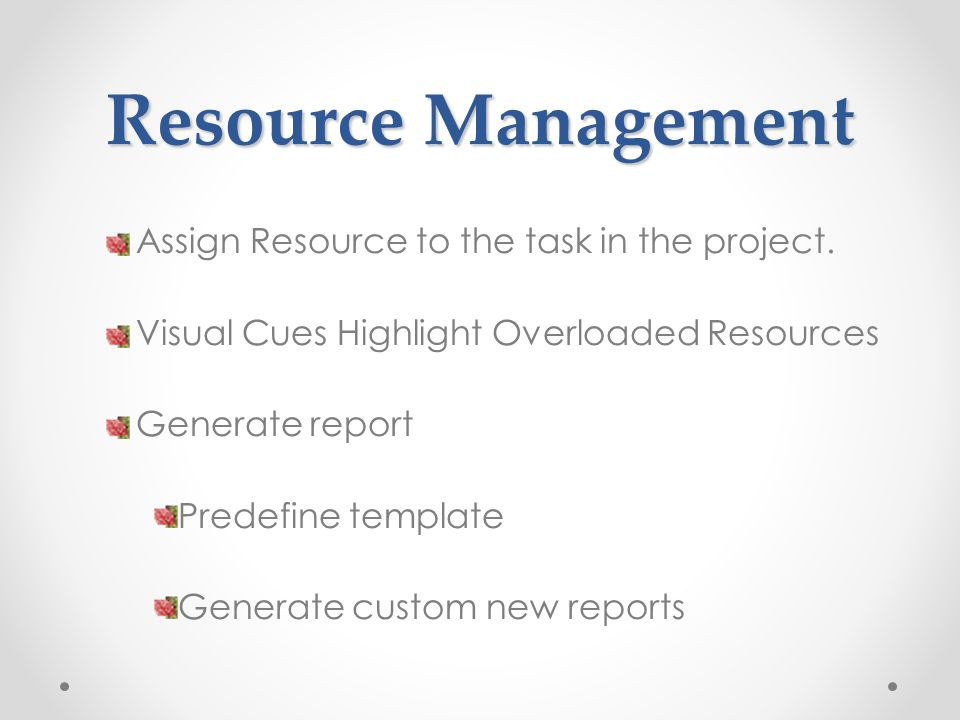 Assign Resource to the task in the project.