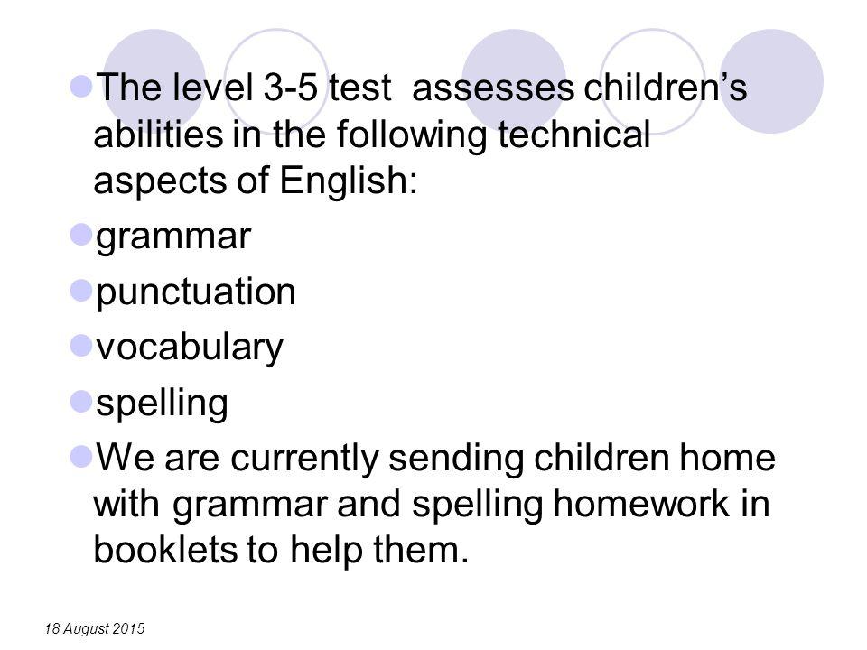 High school punctuation homework help TES