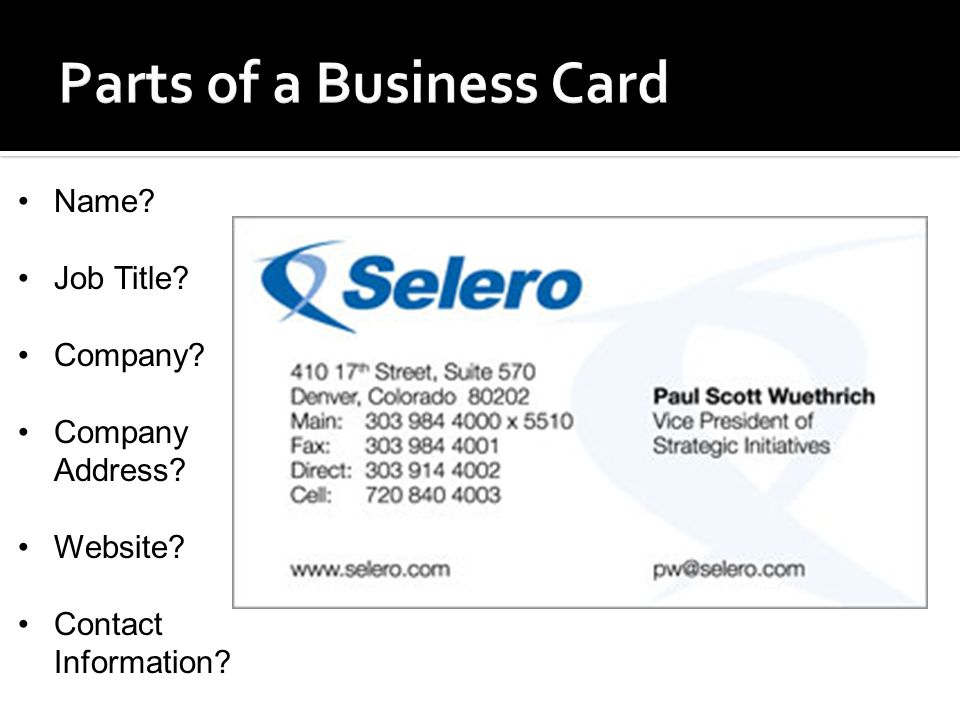 v=4k4mkL70E3g.  Business Cards are often considered to be the ...