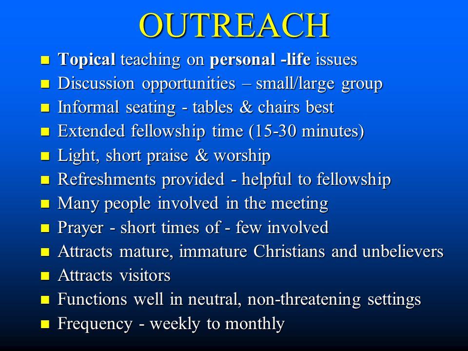 Mature adult ministry survey