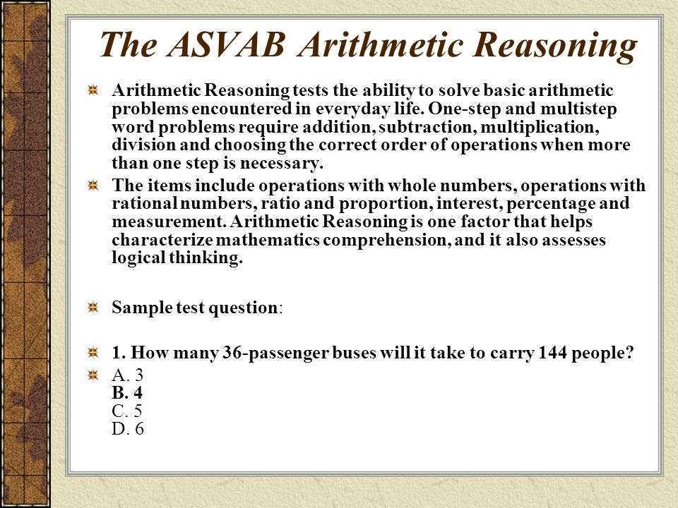 Pictures Arithmetic Reasoning Worksheets - Studioxcess