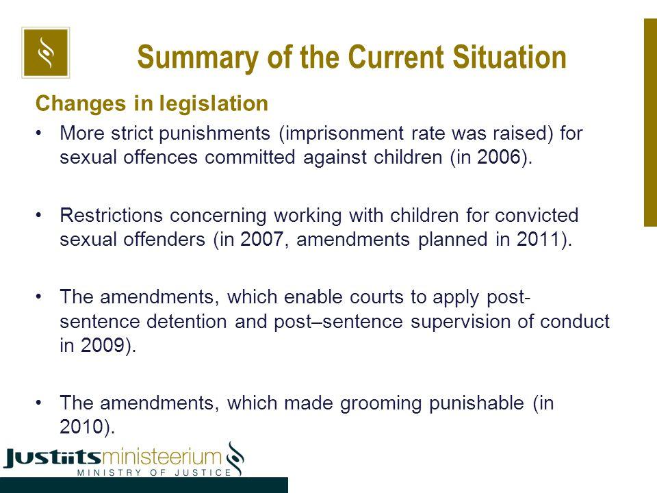 Sex offender punishment or rehabilitation