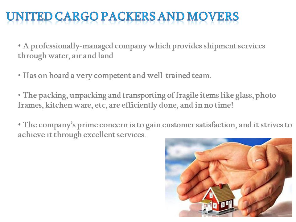 A professionally-managed company which provides shipment services through water, air and land.