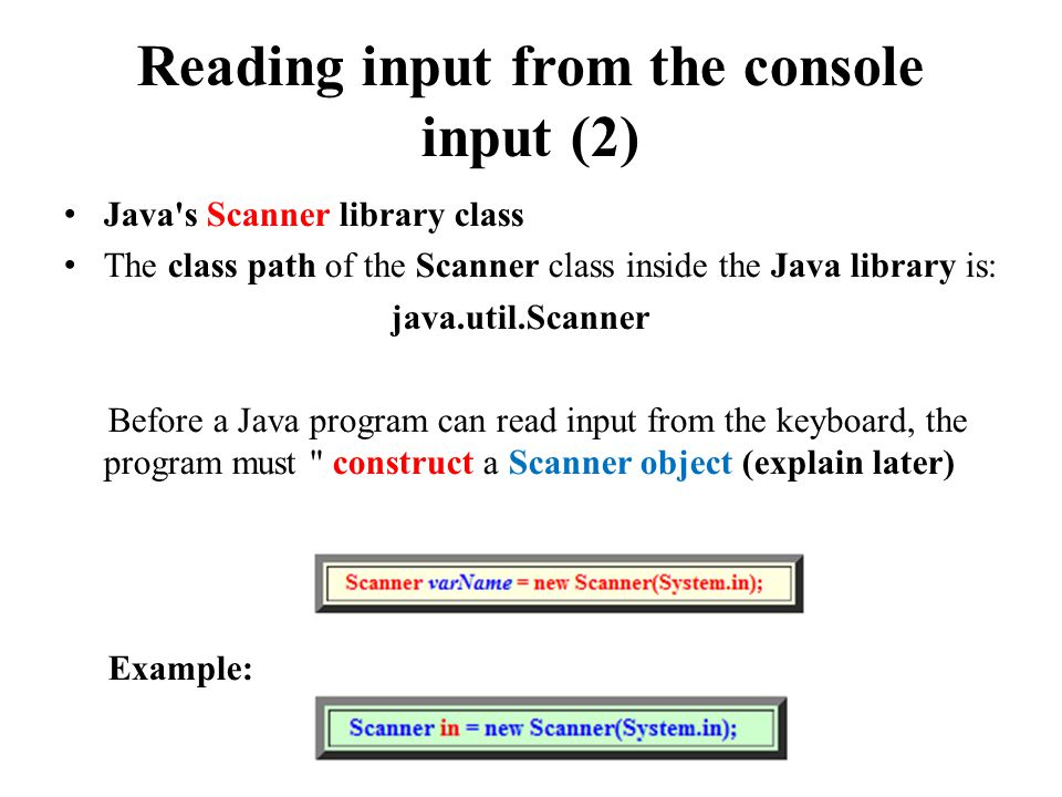 Using Java's Math & Scanner class. Java's Mathematical functions ...