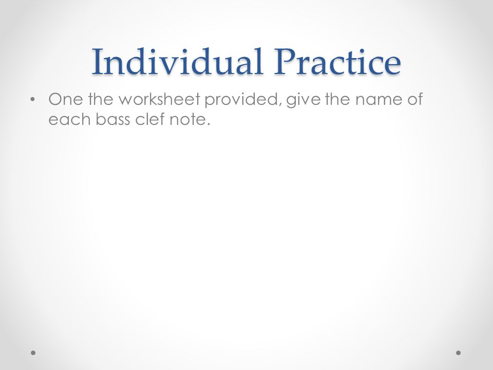 Reading Bass Clef Staff Music is written on a staff A staff is a – Bass Clef Notes Worksheet
