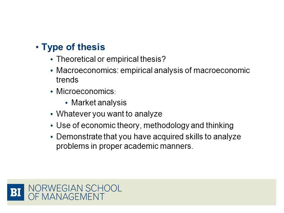 thesis development economics