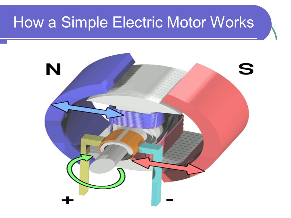 simple electric motor Students forge a hypothesis about how motors make things move, and then build a simple electric motor using wire, a magnet, and a d cell battery to explore how motors convert electrical energy into mechanical energy.