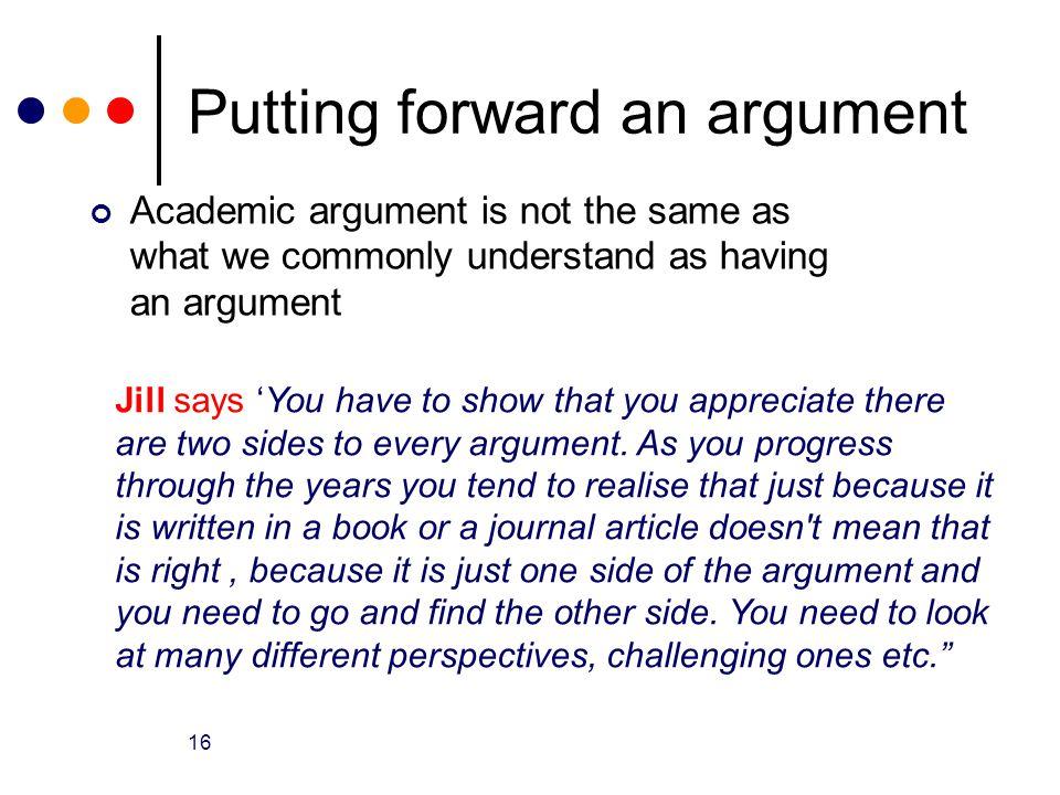 Academic Argument Essay