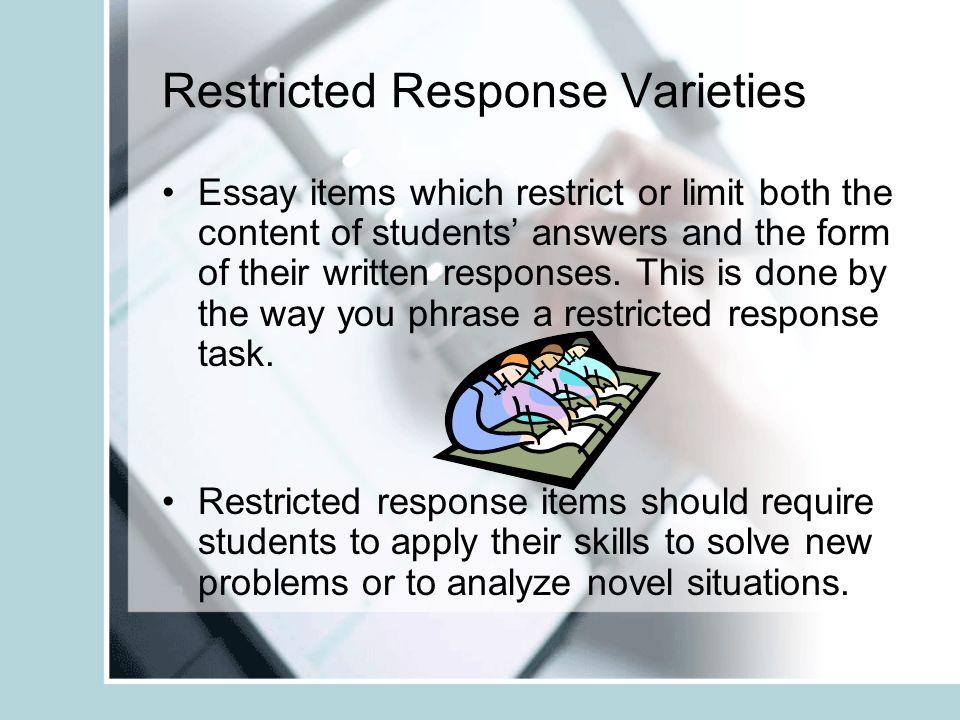 Responsive Essay