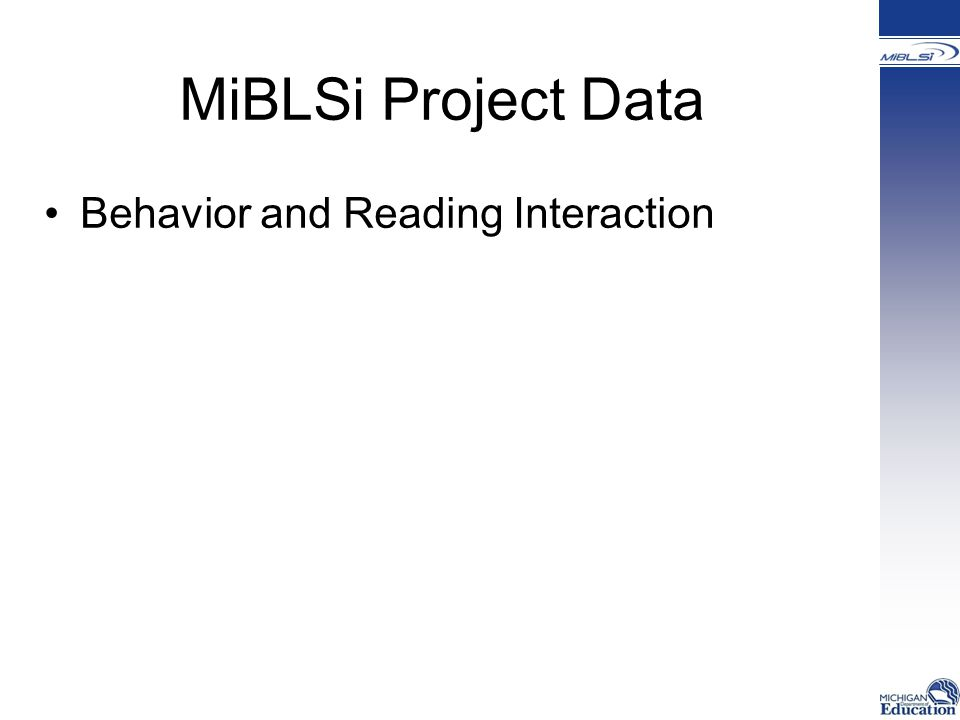 Behavior and Reading Interaction