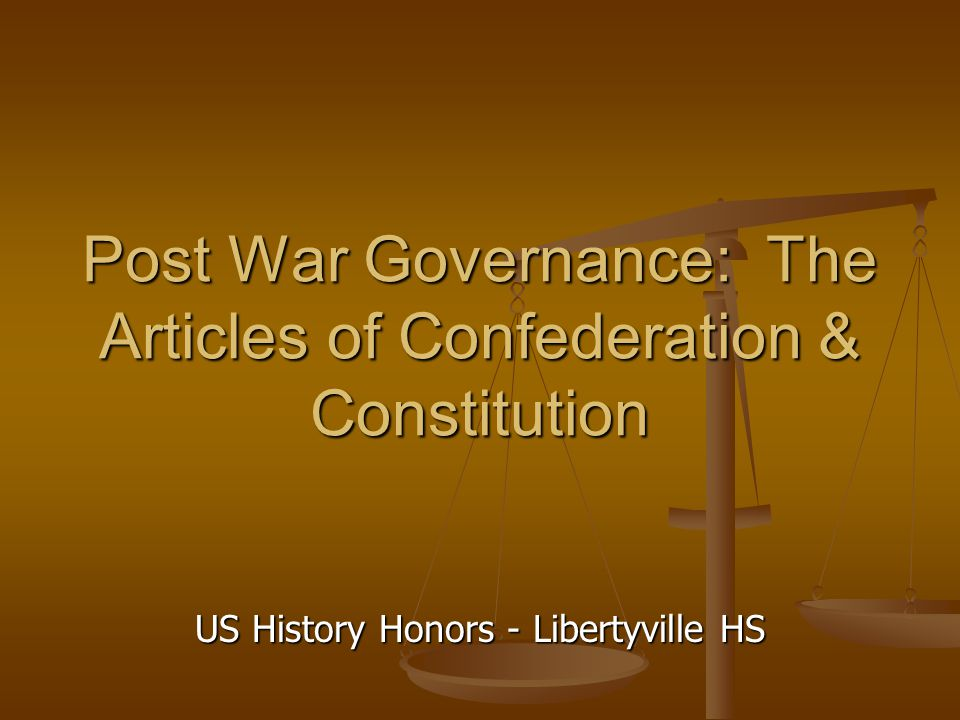 essay comparing articles confederation constitution Historical essay #1: confederation and constitution as  compare and contrast the articles of confederation with  of confederation with the new constitution.