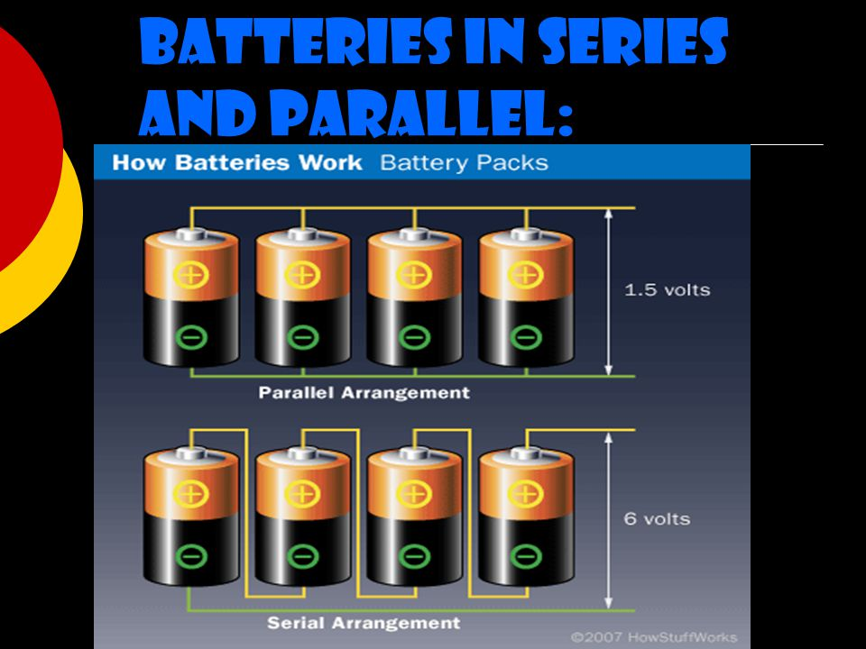 Batteries in Series and Parallel: