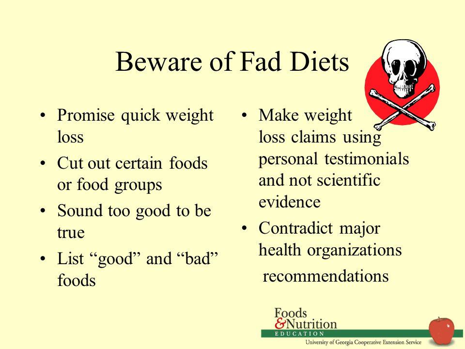 10 Beware Of Fad