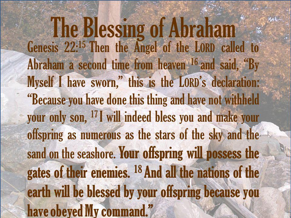 Resultado de imagen para genesis 22:15,18