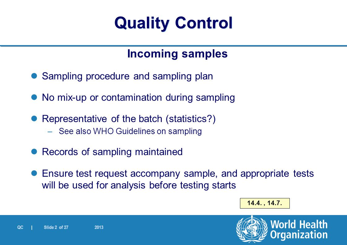 quality control plan template for manufacturing