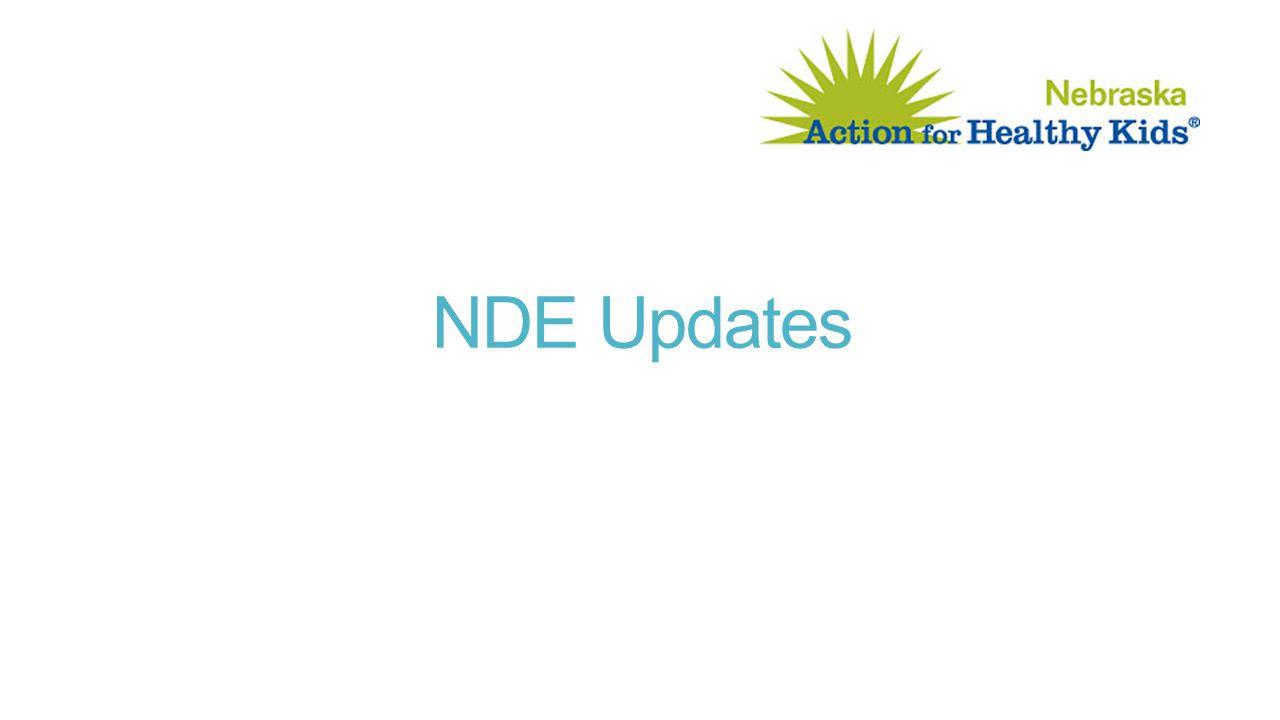 NDE Updates