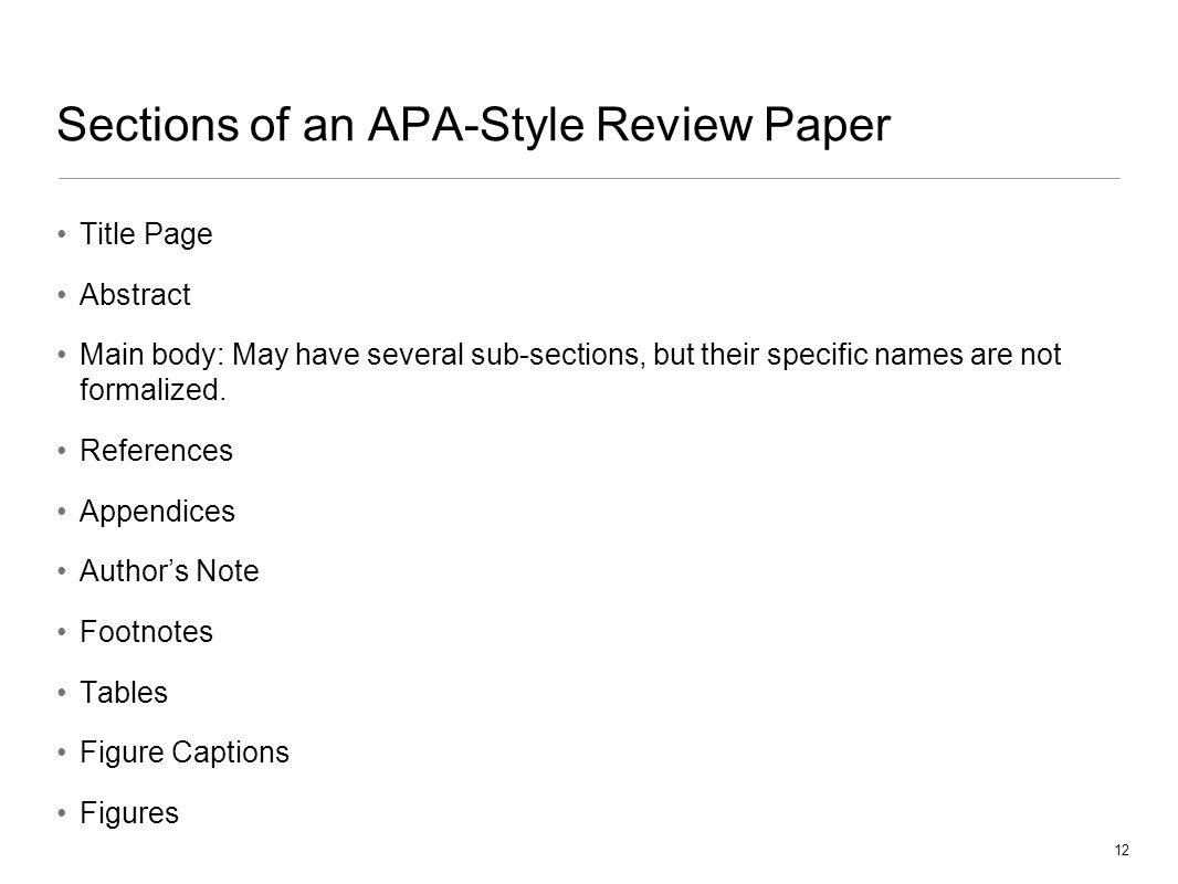 order research paper apa format