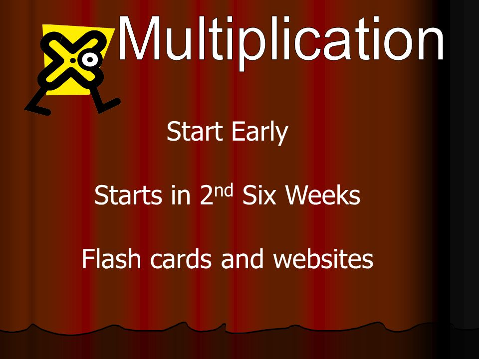 Start Early Starts in 2 nd Six Weeks Flash cards and websites
