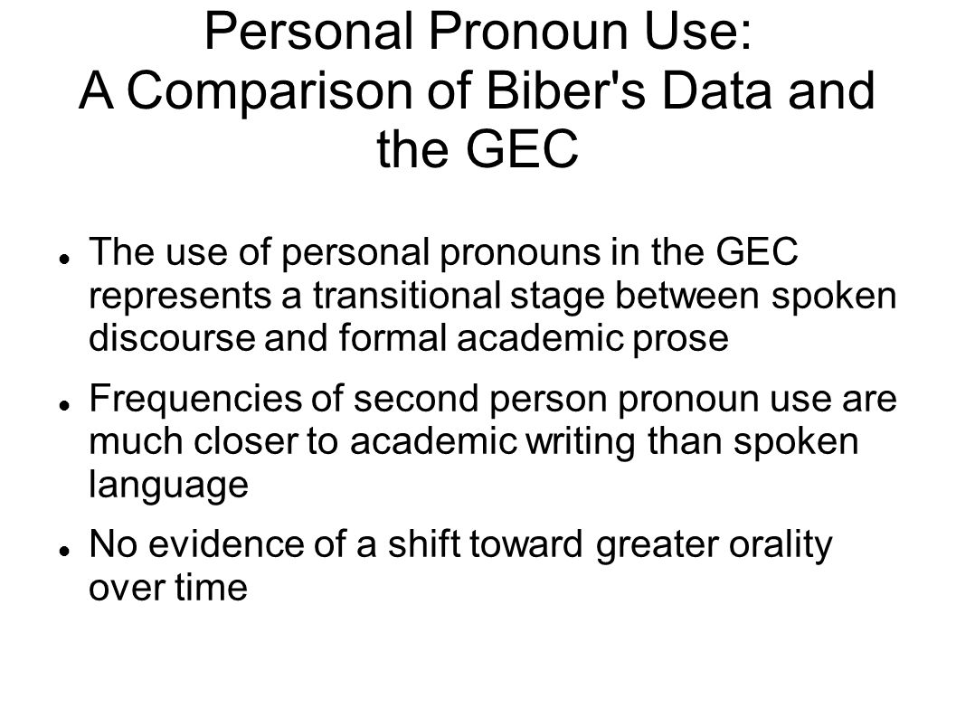 pronoun usage essay Personal pronouns in essays for ielts: candidates are often unsure as to whether they can use pronouns such as i, we and you in an ielts essay this lesson explains more about this issue so you know exactly what you can and cannot do in your writing.