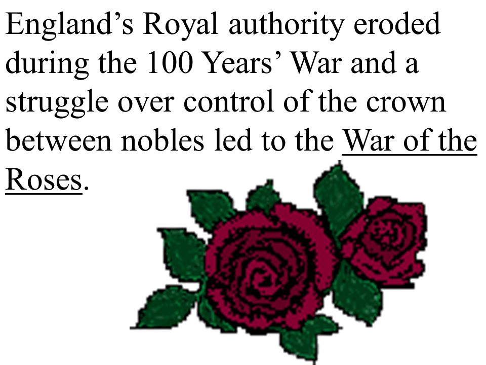Although war isn't good for anyone, the Hundred Years' War allowed accelerated social and political development in Western Europe.
