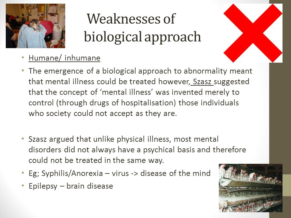 an introduction to the biological approach to abnormality an illness and disease Quizlet provides word study psych abnormal psychology intro activities, flashcards and games start learning today for free biological approach evolutionary.