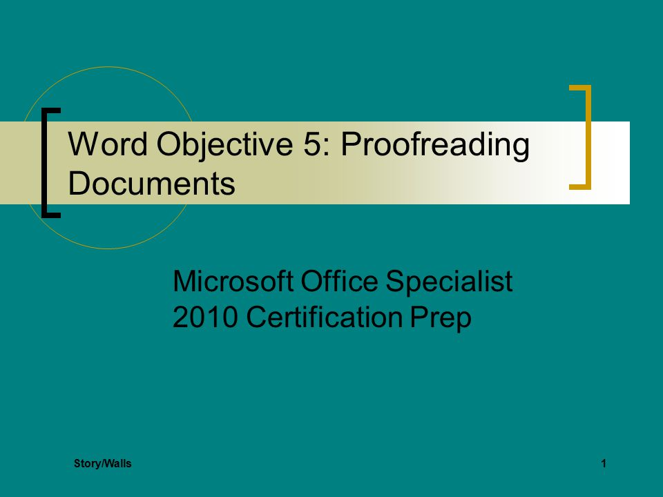 Microsoft Word 2010 Certification Zaxa