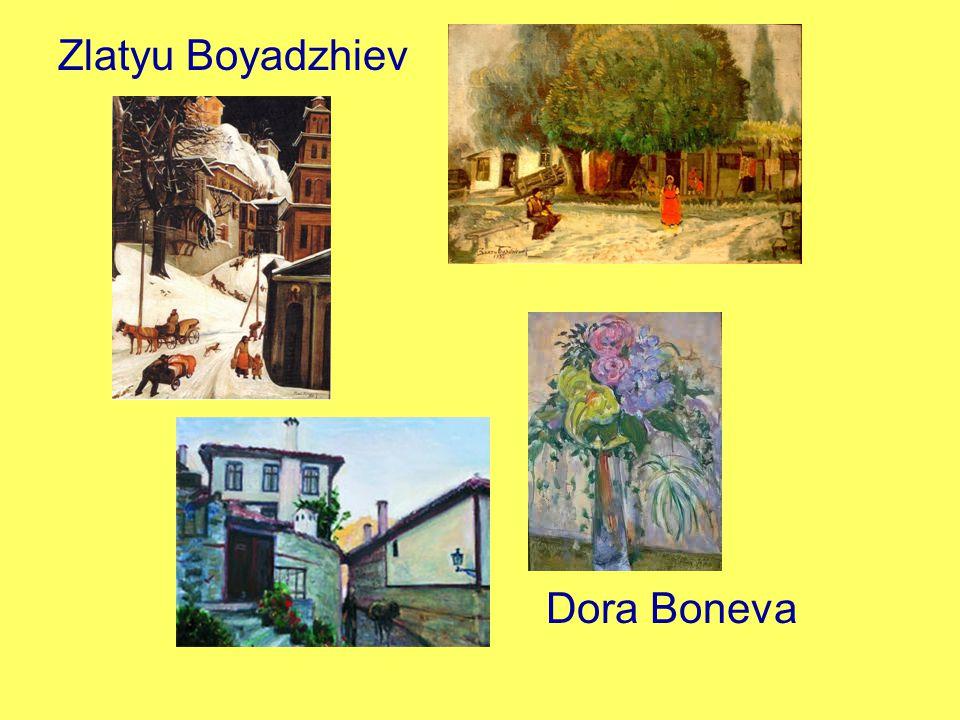 Dora Boneva Zlatyu Boyadzhiev
