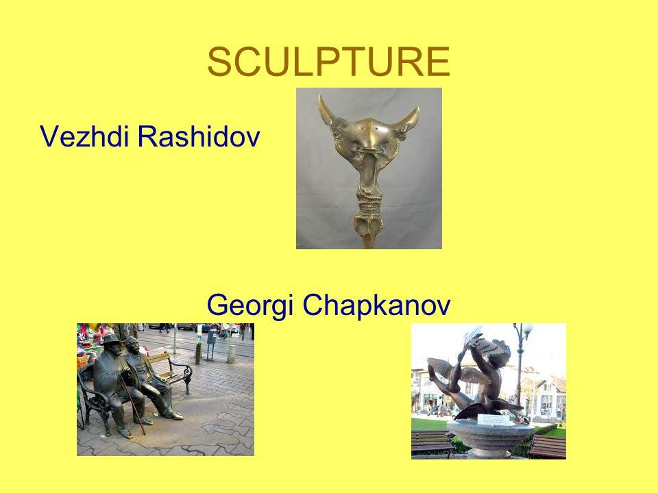 SCULPTURE Vezhdi Rashidov Georgi Chapkanov
