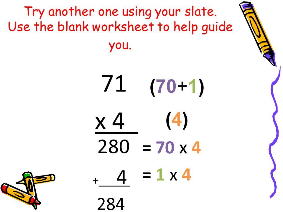 math worksheet : partial product multiplication algorithm  review of partial  : Partial Product Multiplication Worksheets