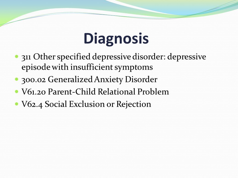Mental Health Exles