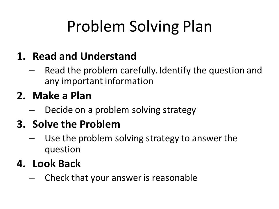 How To Solve Area Problems
