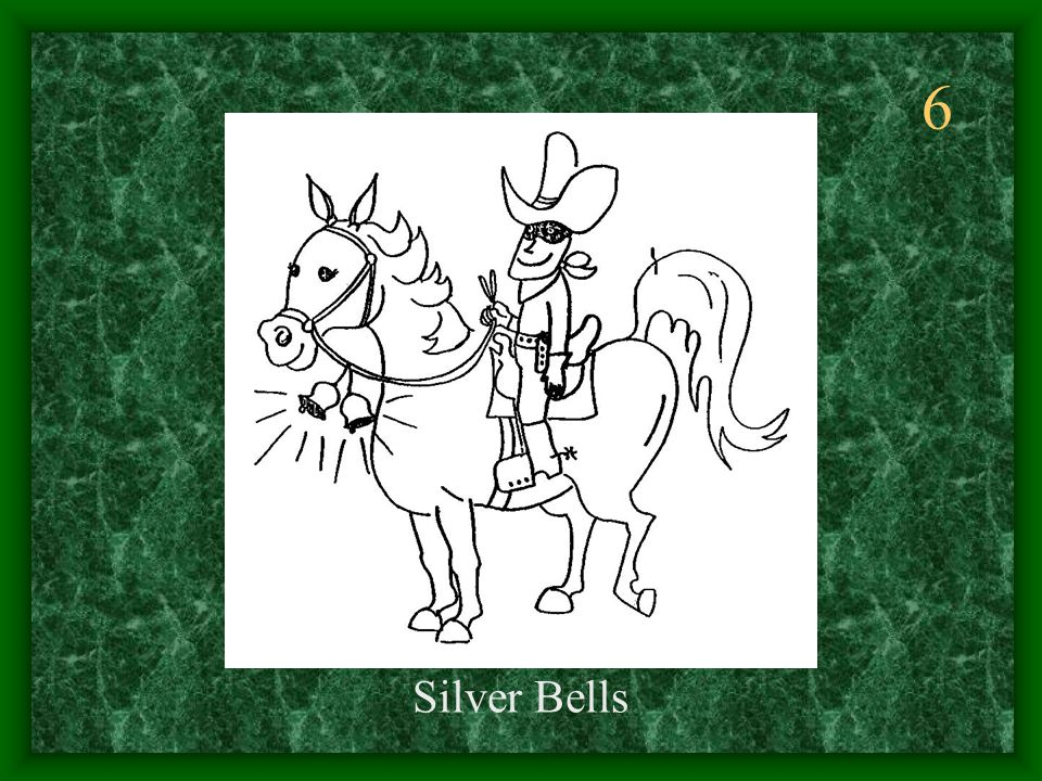 6 Silver Bells