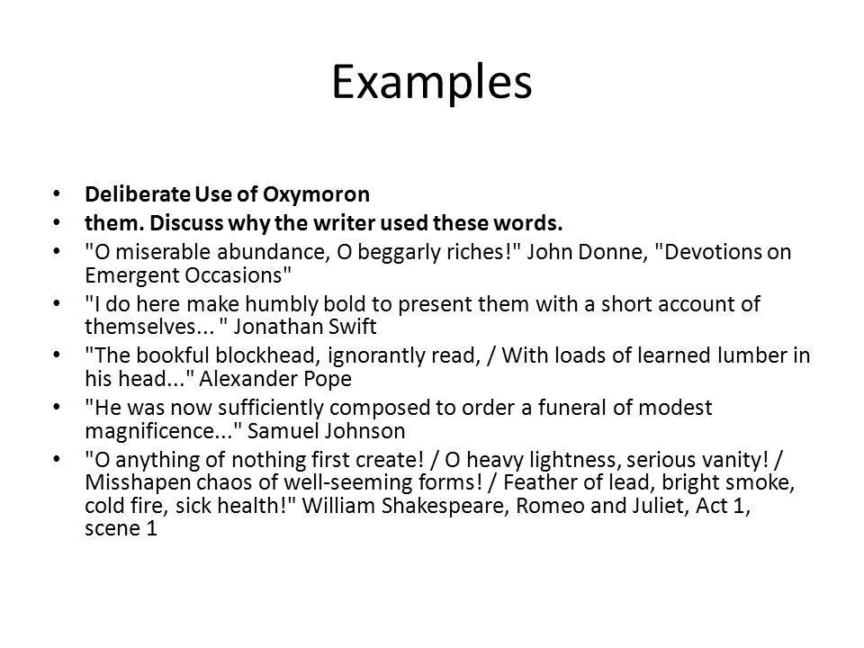 Oxymoron Definition Oxymoron From Wikipedia The Free Encyclopedia