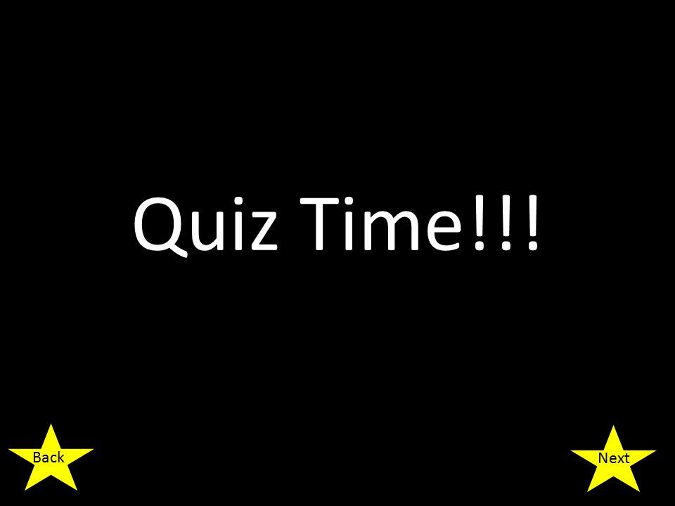 Quiz Time!!! Next Back