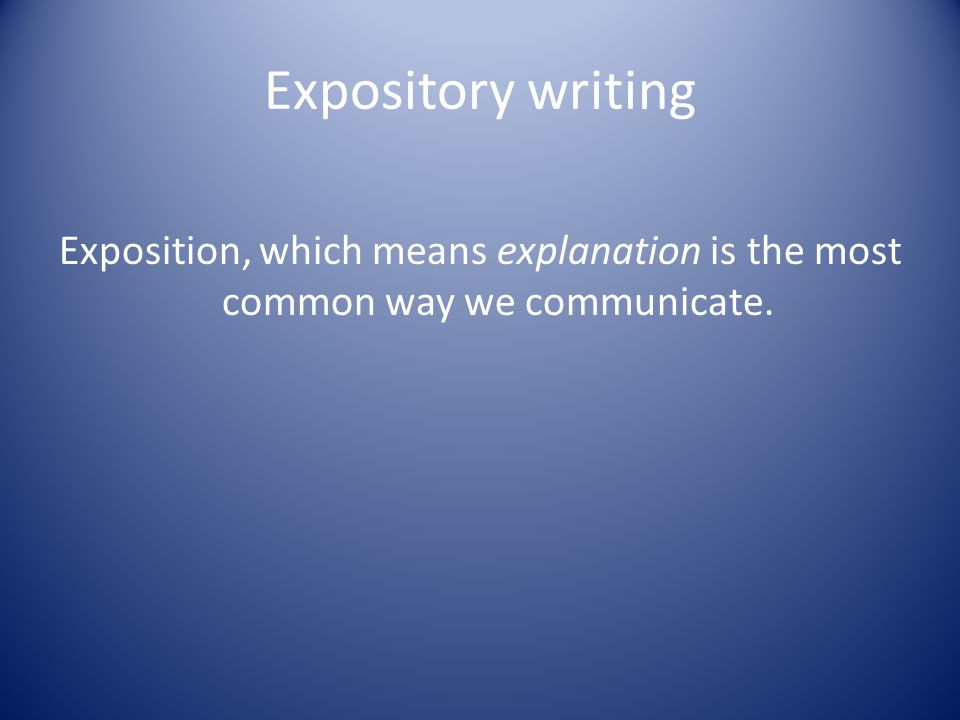 Ways to write an effective Exposition (with- Booksoarus