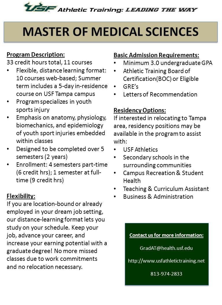 Program Description: 33 credit hours total, 11 courses Flexible ...