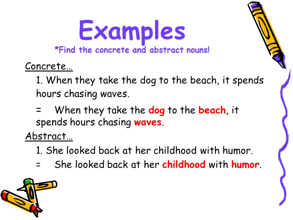 Discovering Nouns Learning Understanding The Difference In Common