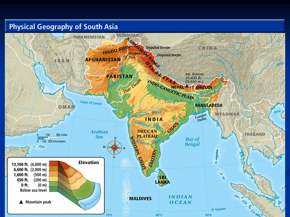 South Asia Chapter Geography Overview Physical Geography - Geography rivers