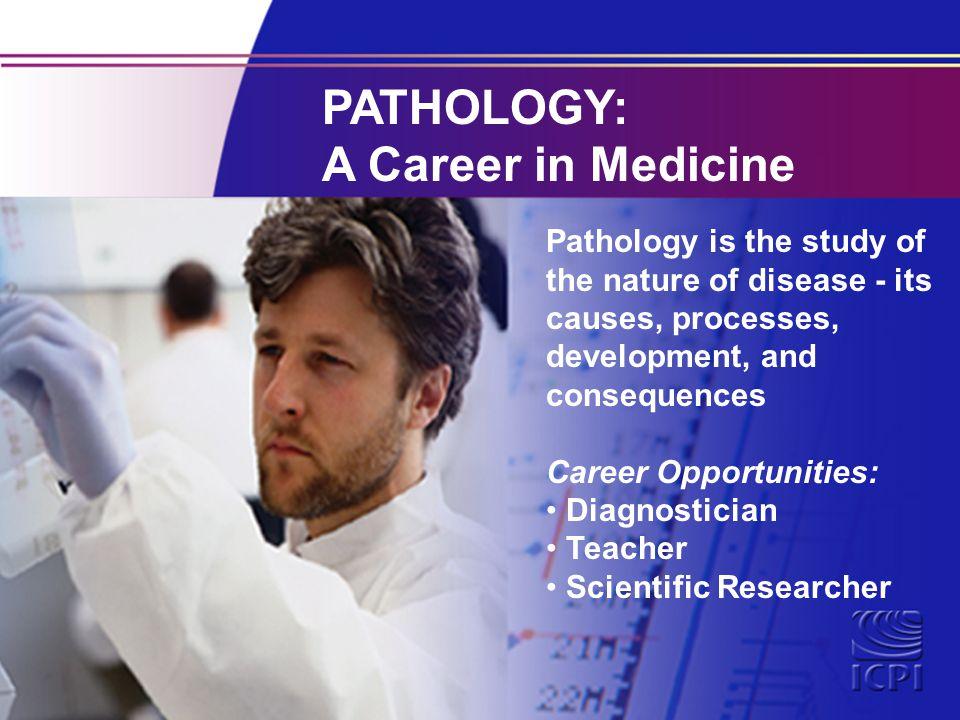 A career in medicine!?
