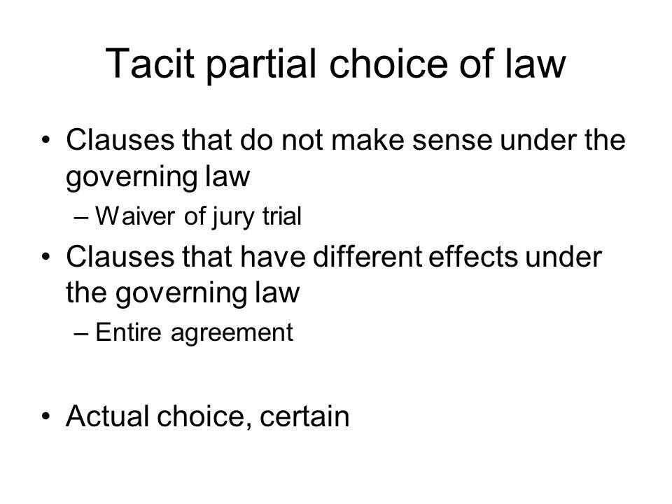 International commercial law choice of governing law university of 12 tacit platinumwayz