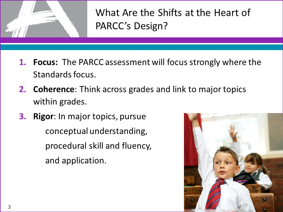 What Are the Shifts at the Heart of PARCC's Design.