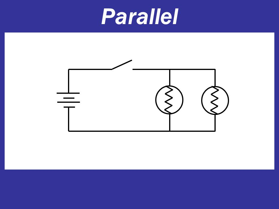 Series Duracell Open or closed circuit