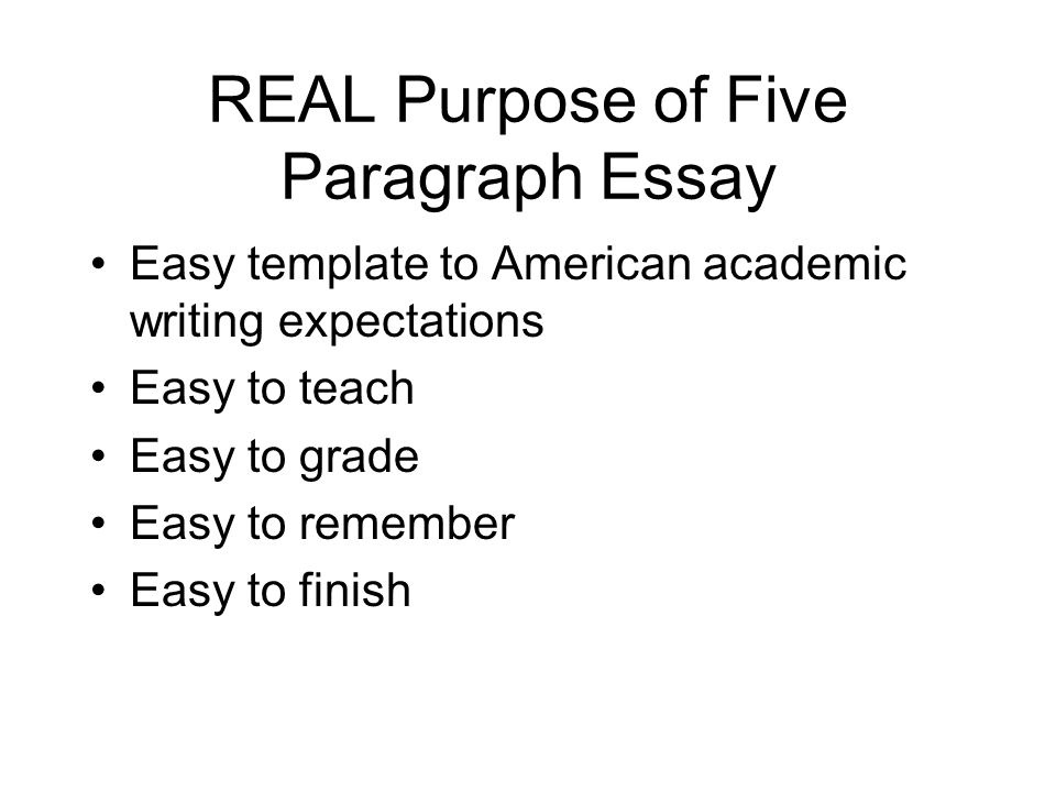 the five paragraph essay song The five paragraph essay essay writing in english focuses on trying to teach pupils how to write an essay in five paragraphs so i started writing songs.