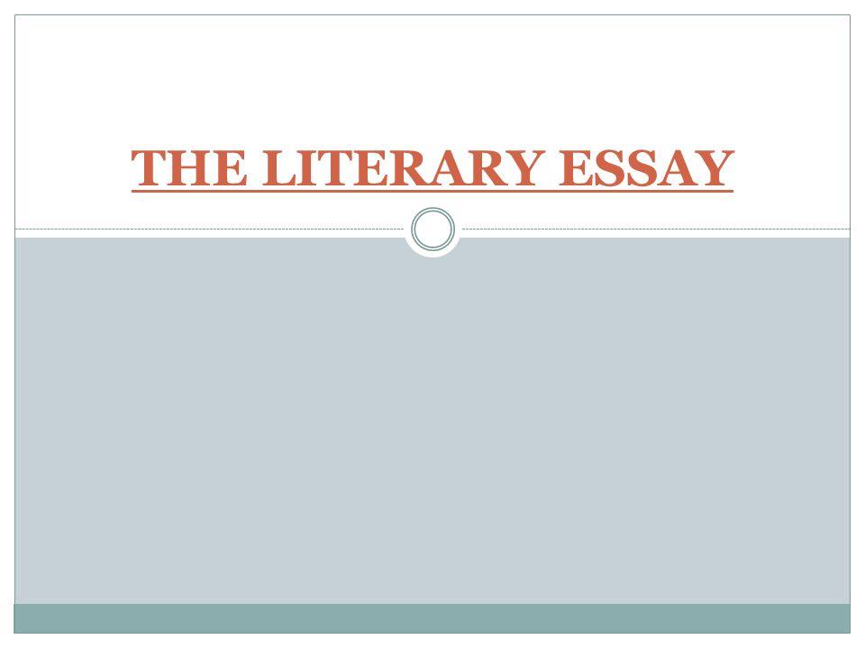 Fiction analysis essay