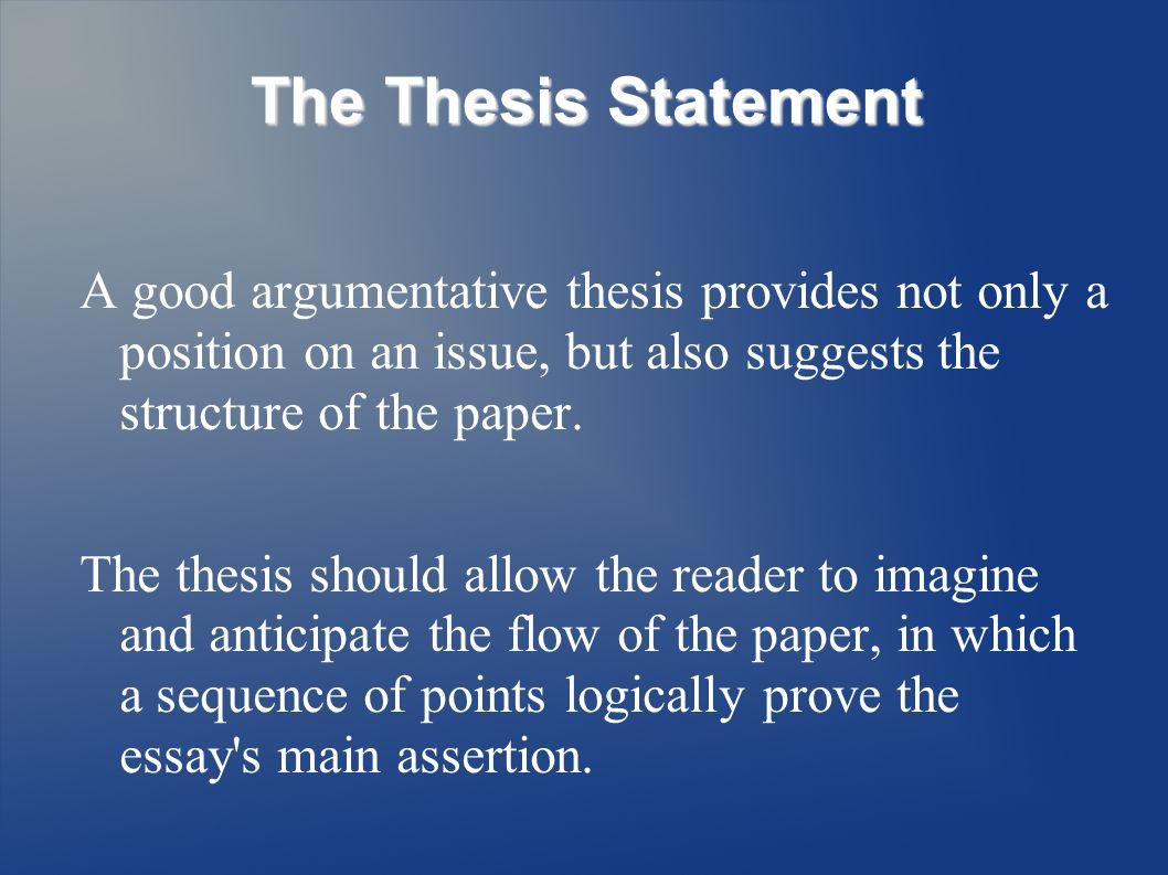 5 Paragraph Argumentative Essay