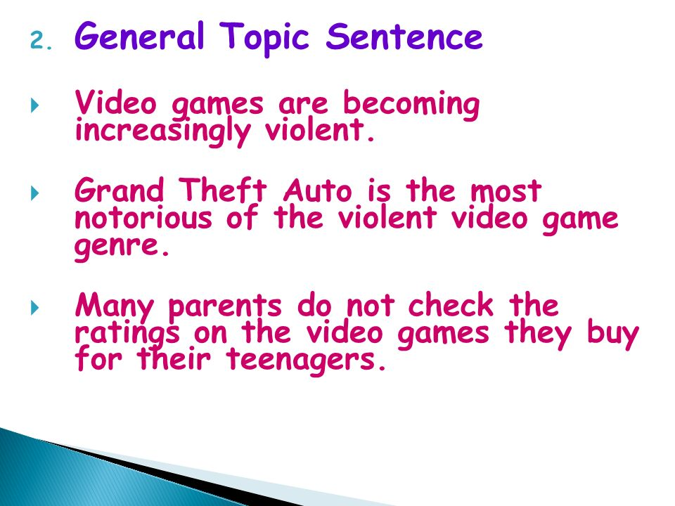 definition essay on video games