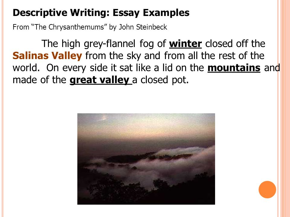 descriptive winter essay Great collection of paper writing guides and free samples ask our experts to get writing help submit your essay for analysis.