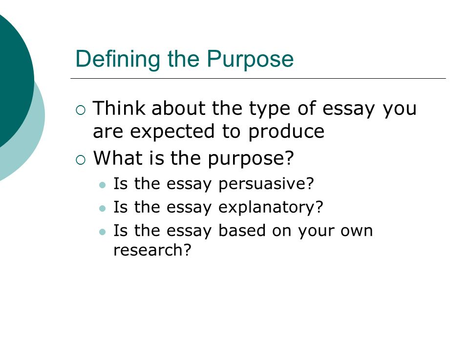 purpose of writing essays The research writing process generally comprises six steps: choosing a topic, scheduling and planning time for research and writing, conducting research, organizing research and ideas, drafting a paper, and revising and editing the paper.