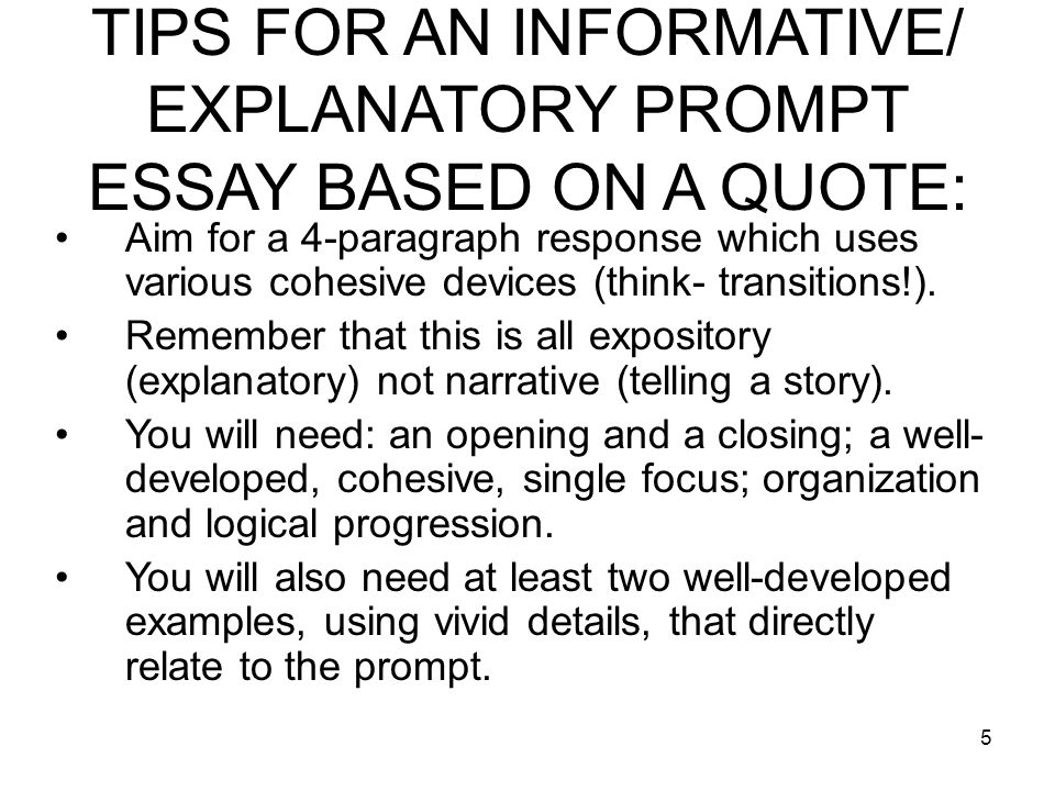 Im having trouble thinking about 5 topics for an essay?