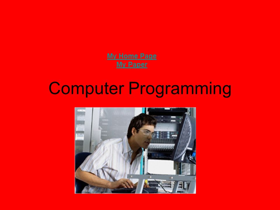 Job Description For Computer Programmer  Computer Programmer Job